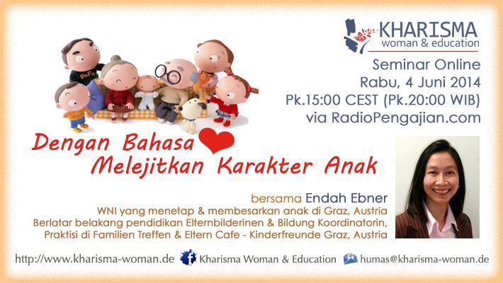 Seminar Online Kharisma-Woman.de Juni 2014